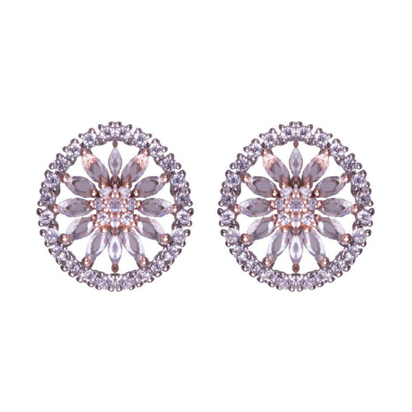 Symmetrical Circular Earrings
