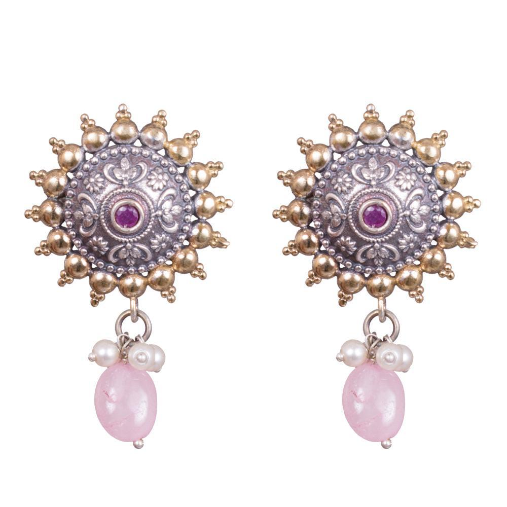 Dangling intricate earrings