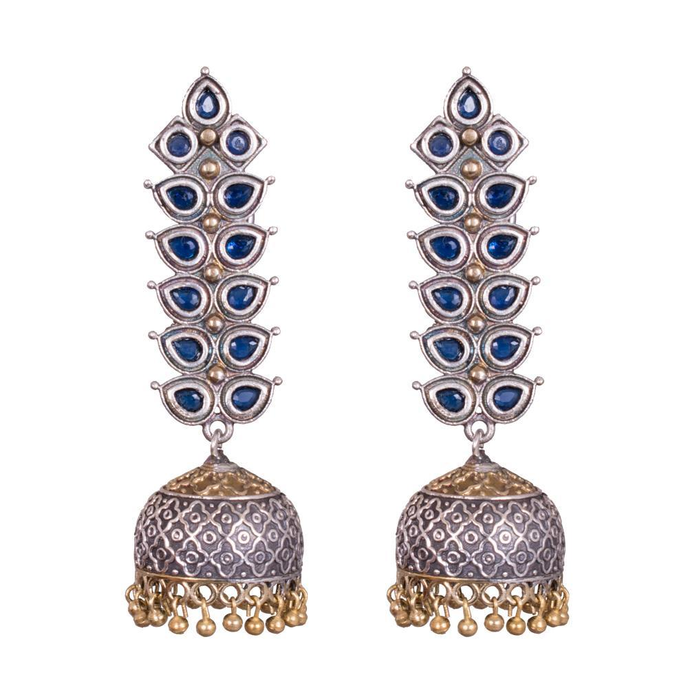 Modern twist traditional jhumkas