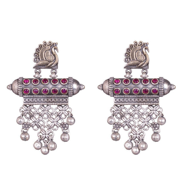 Dazzling Red Kemp Earrings