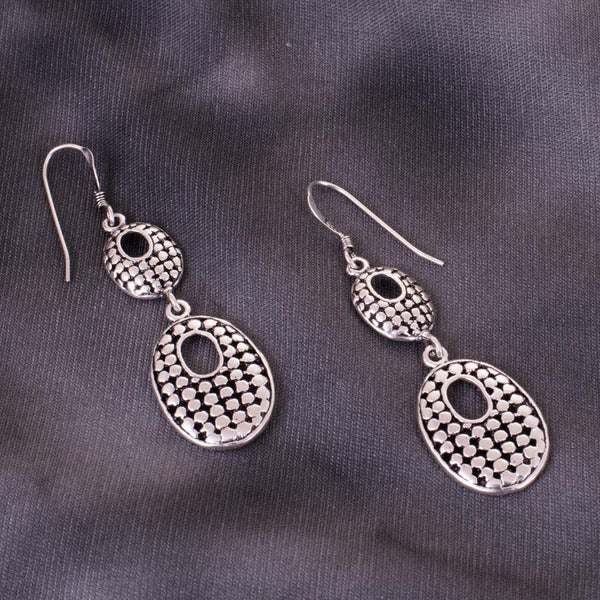 Classy Memorable 92.5 Silver Earrings