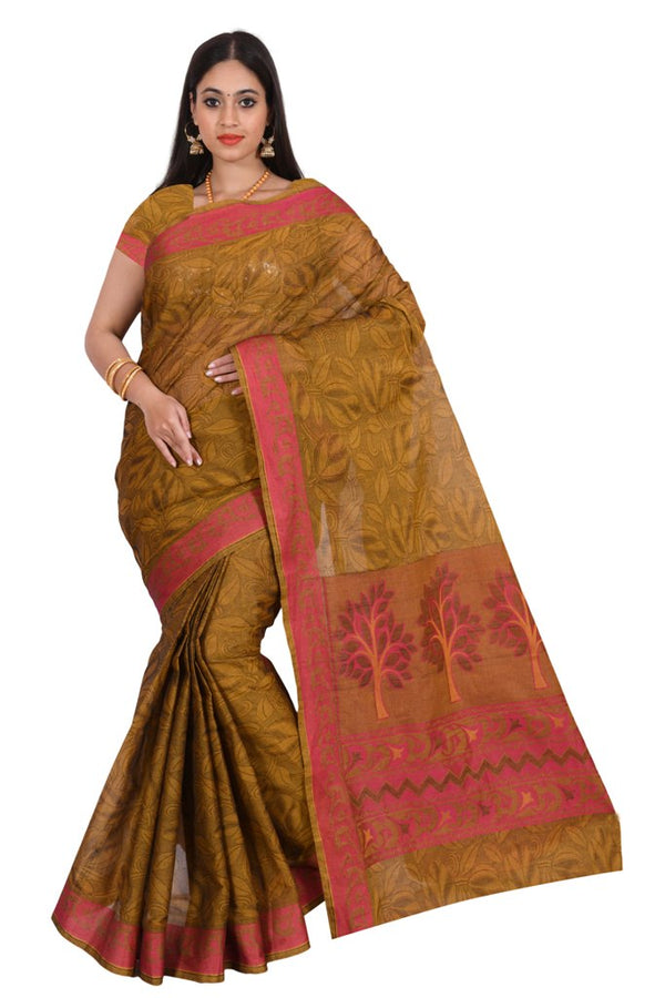 coimbatore Cotton Saree - Brown for Rs.Rs. 1859.00 | by Prashanti Sarees