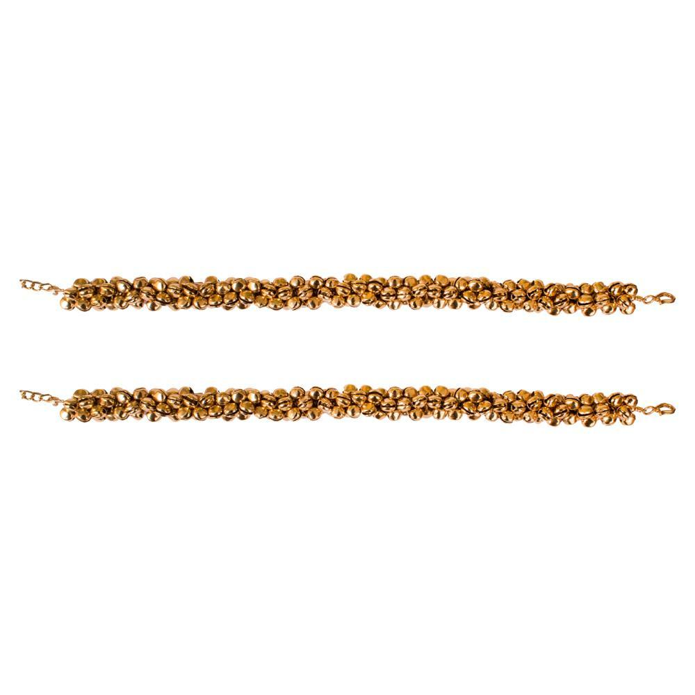 Stylish gold plated anklet