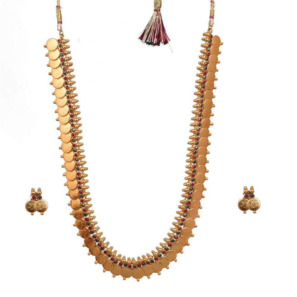Showstopper south indian necklace set