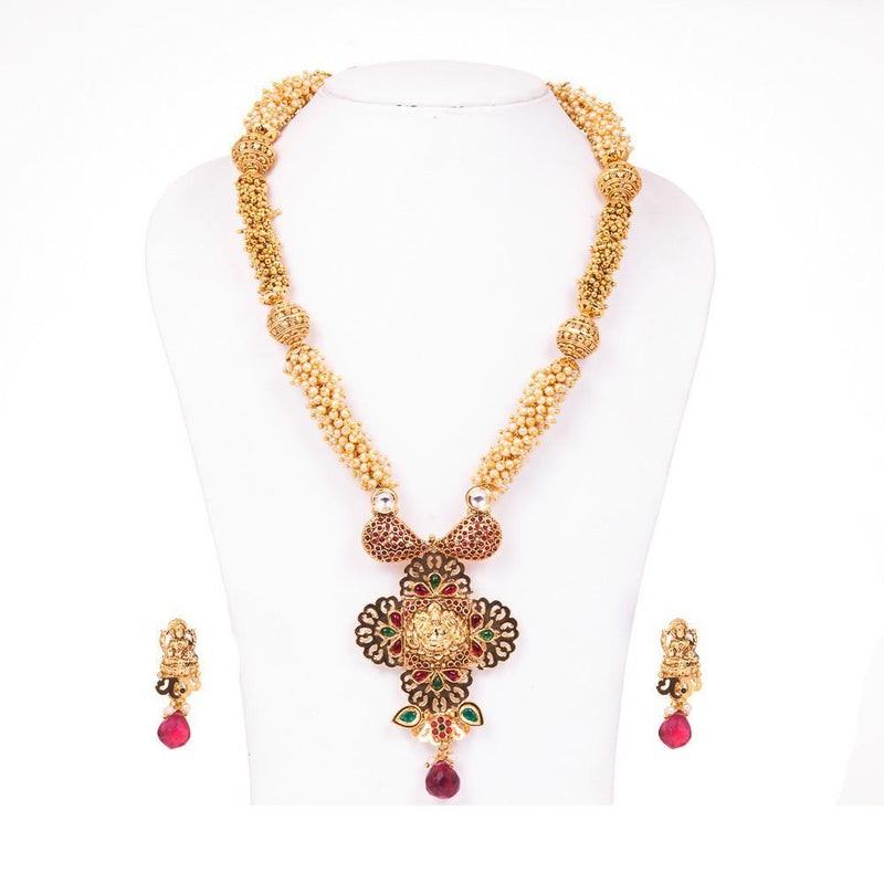 Elegant Pearl Antique Necklace