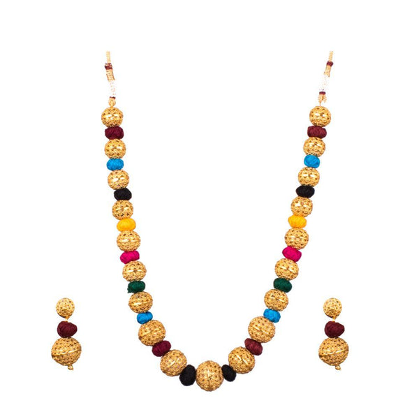 Colourful dashing Beaded set
