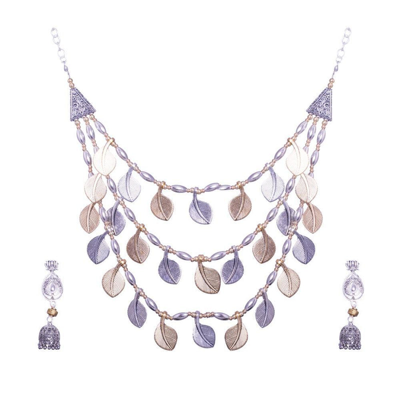 Petal necklace set