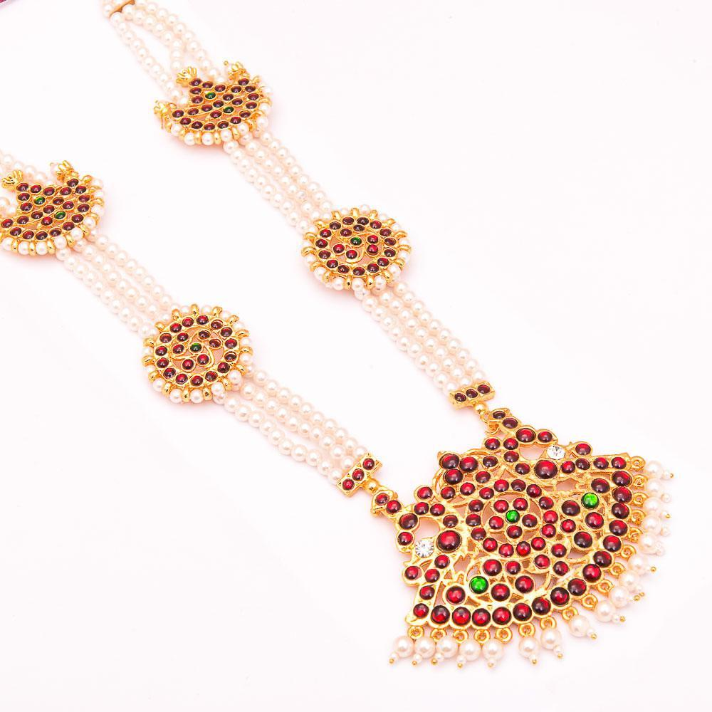 Haaram Radiance for Rs.Rs. 495.00 | Necklace Sets by Prashanti Sarees