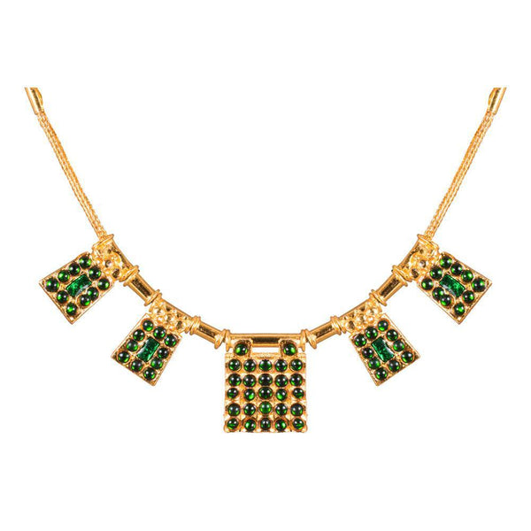 Bliss of Green Kemp Necklace