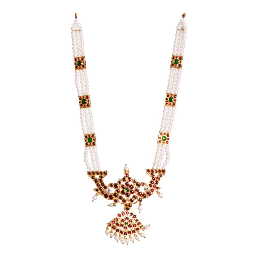 Wonders of Pearl Traditional Necklace