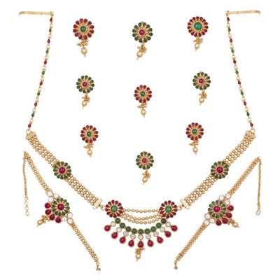 Grand Look Kundan Bridal mania Full Set