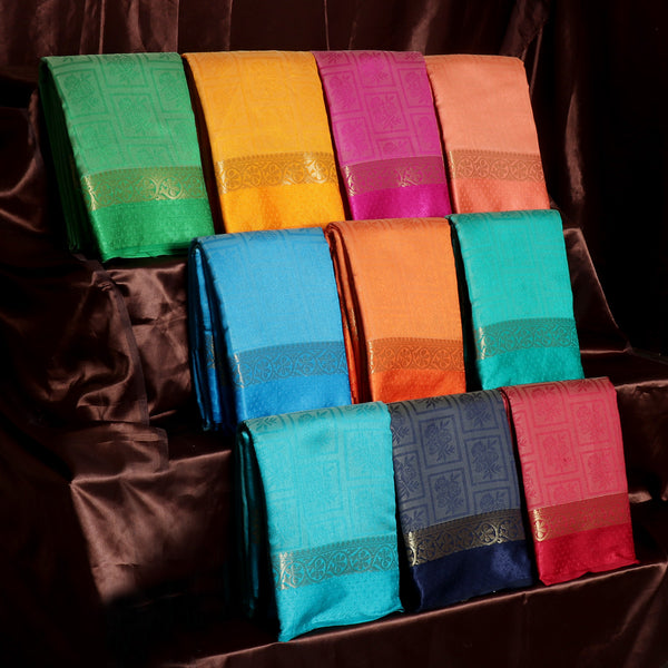 Raw Silk Sarees Gift Pack of 10 for Rs.Rs. 8600.00 | Gift Pack by Prashanti Sarees