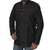 Mens Short Silk Cotton Kurta Black