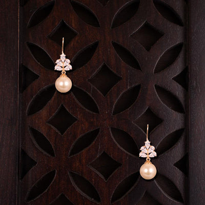 Cream Pearl Gorgeous Earrings