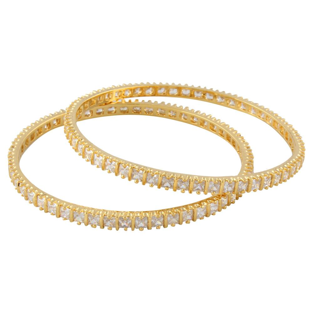 Mystic White Bangles - mystic collections
