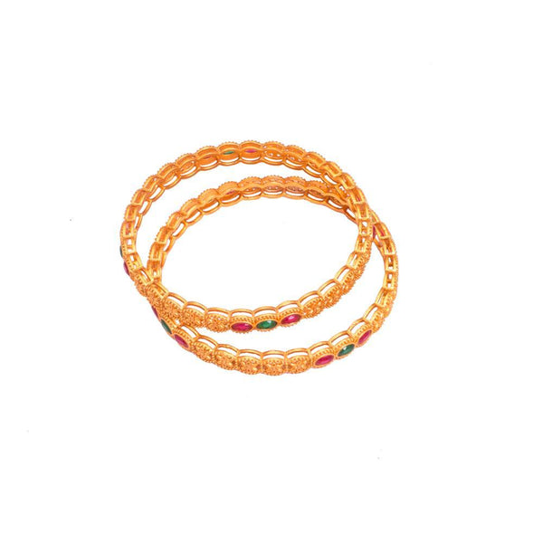 Gold Plated Elegant Bangles