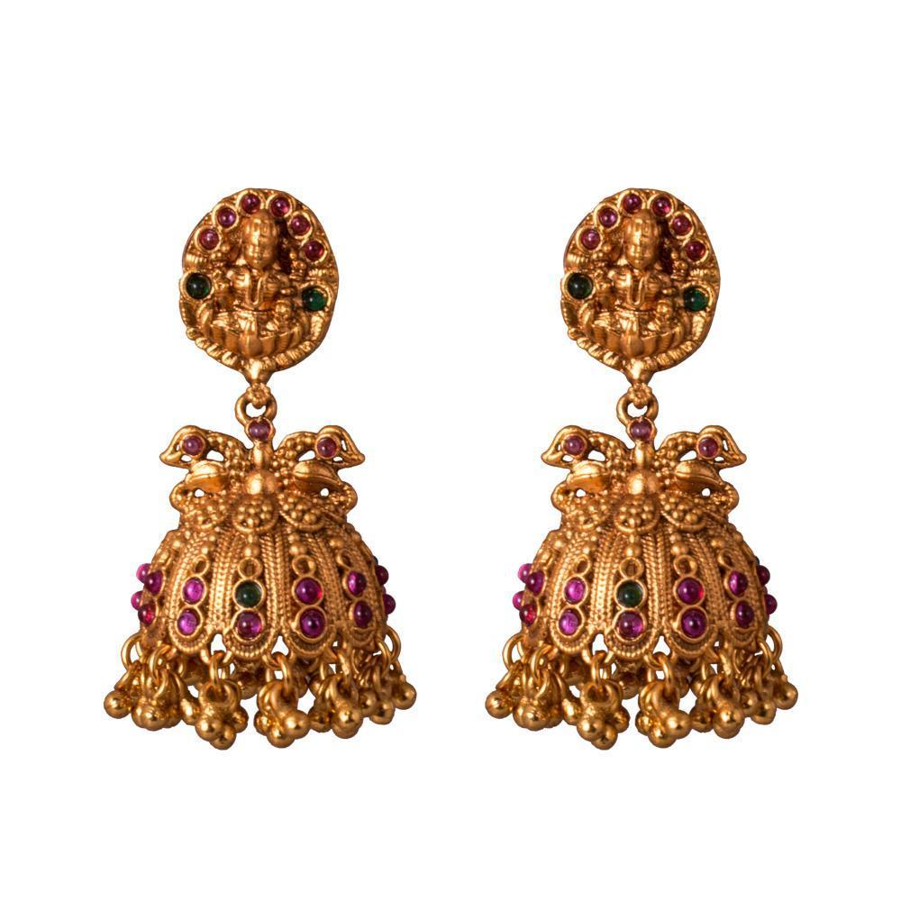 Goddess Laxmi Authentic Earrings