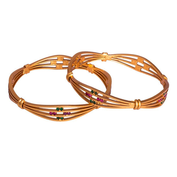 Sparkly unique bangles for Rs.Rs. 480.00 | Jewellery by Prashanti Sarees
