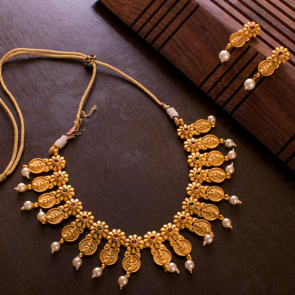 Dazzling Gold Plated Kemp Set