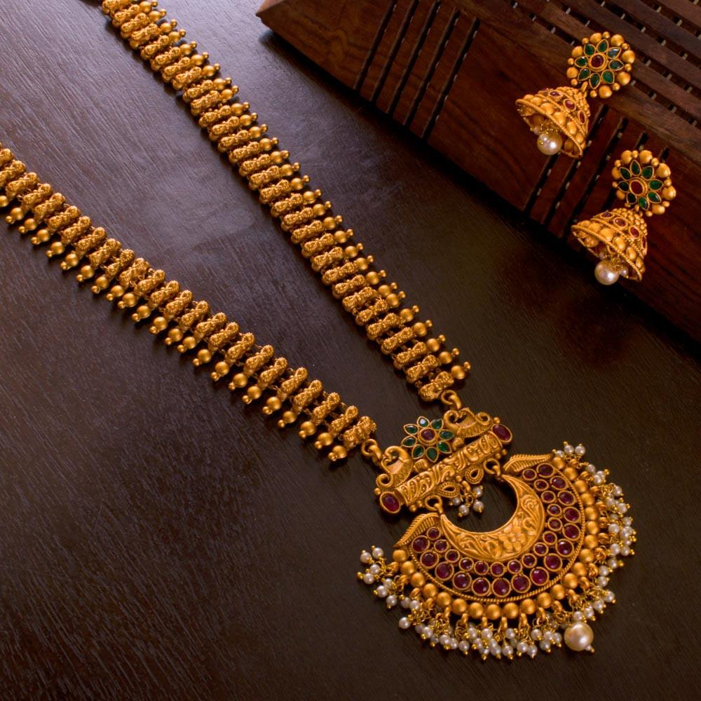 Gold Plated Statement Set