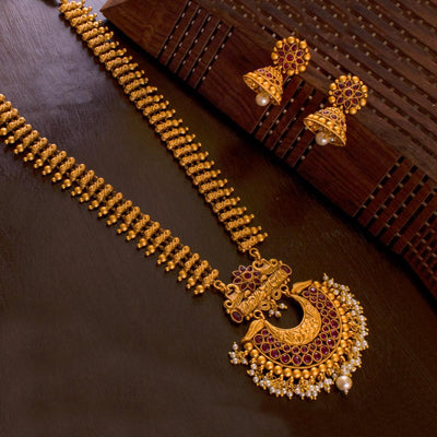 Temple Jewellery Superior Set