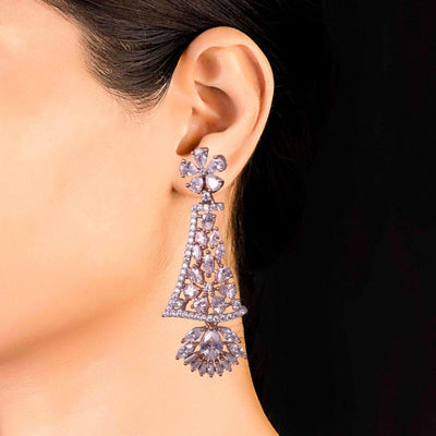 American Diamond Evening Earrings