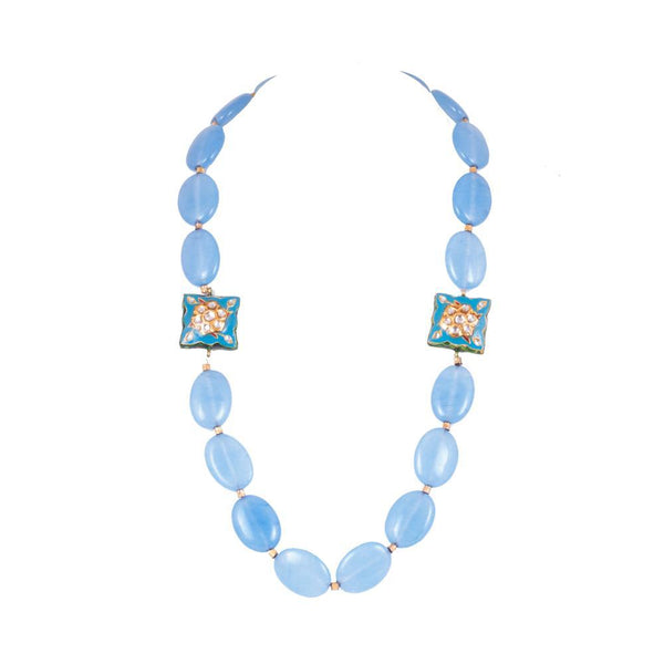 Suntle And Royal Blue Beads Set