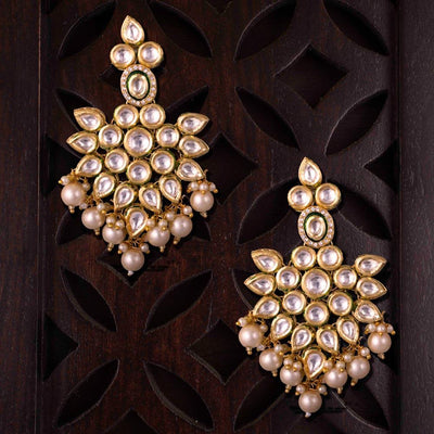 Kundan Chunky Delight Earrings