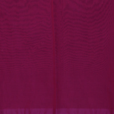 Kora Silk Saree Violet and Pink with Simple Border