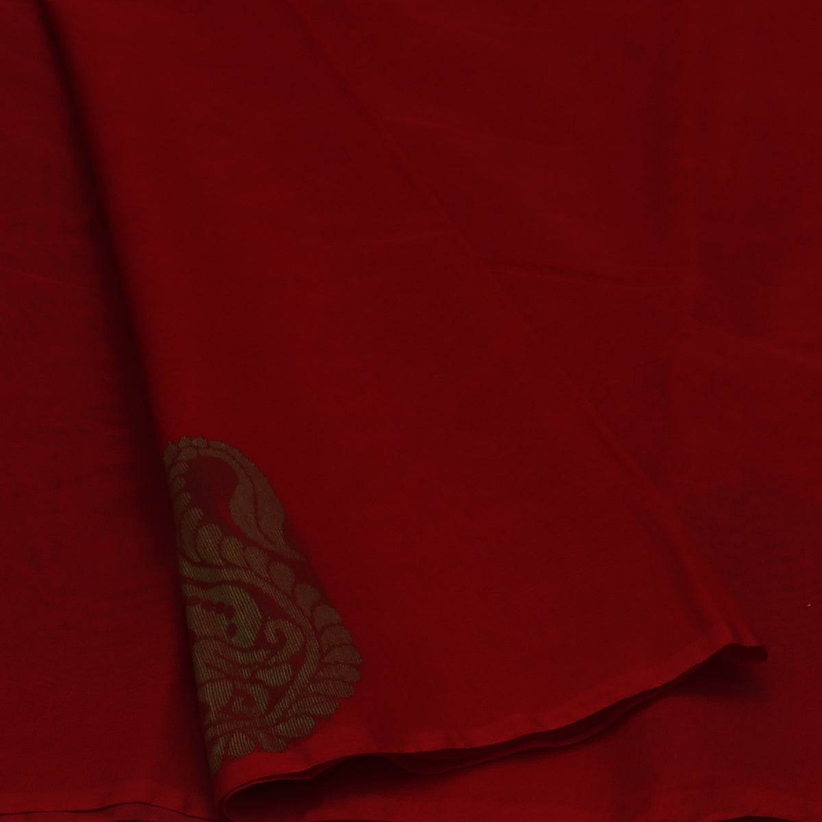 c115e1a542 Buy Kora Silk Saree Red and Green with Simple Border at Prashanti Sarees  for only Rs. 1,925.00