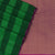 Kora silk  saree Green with Dark Green and Pink with Rich pallu