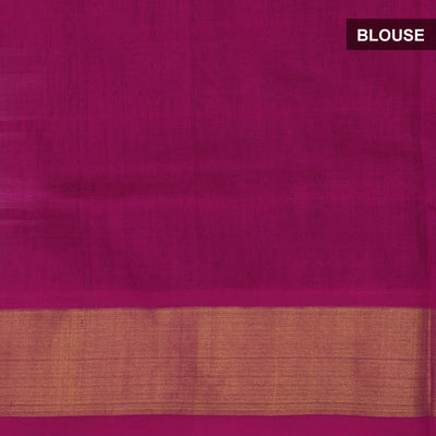Silk Cotton Saree-Moss Green and Pink Checks with Butta and zari border for Rs.Rs. 3600.00 | Silk Cotton Sarees by Prashanti Sarees