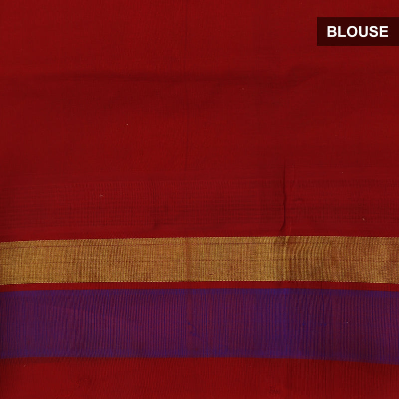 Kuppadam Silk Cotton Saree Yellow and Maroon with silk Border for Rs.Rs. 5750.00 | Silk Cotton Sarees by Prashanti Sarees