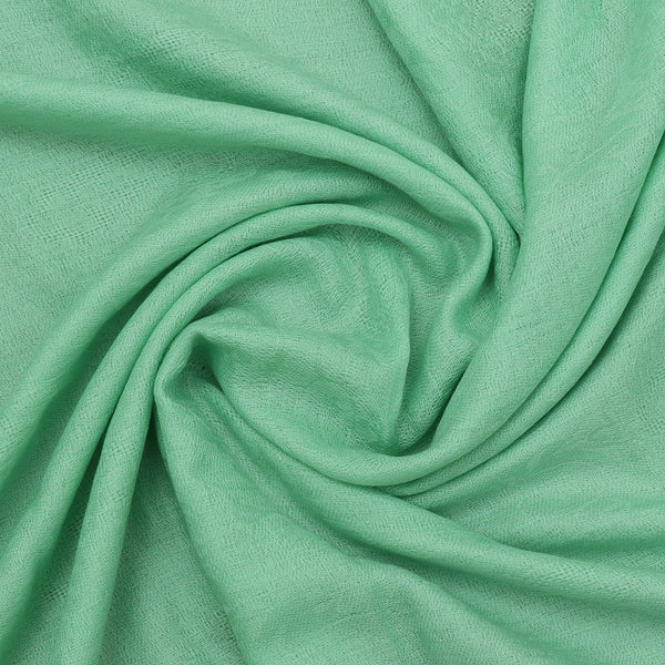 Pure Pashmina Stole Light Green and Grey with Leaf design for Rs.Rs. 3600.00 | Stole by Prashanti Sarees