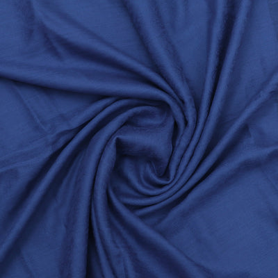 Pure Pashmina Stole Blue with Leaf design