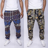 Patterned Travel Sweatpants
