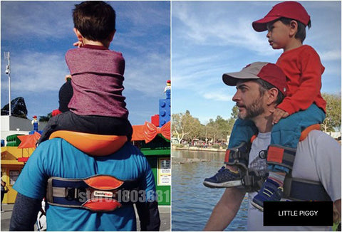 Parents Hands-Free Shoulder Carrier Saddle