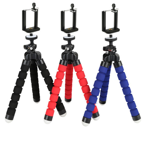 Universal Compact Octopus Tripod Stand with Remote