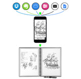 Elfinbook 2.0 Smart Reusable Erasable Notebook