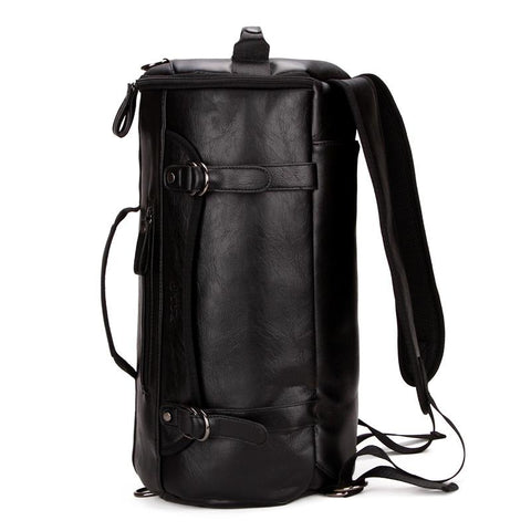 Stylish Leather Duffel Bag
