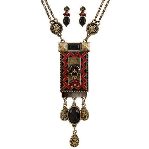 Tibetan Necklace Set