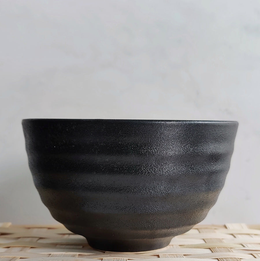 Black Matcha Bowl from Very Craftea