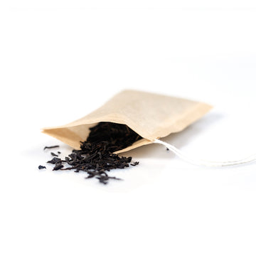 Close up of Biodegradable Self Fill Teabags for loose leaf tea from Very Craftea