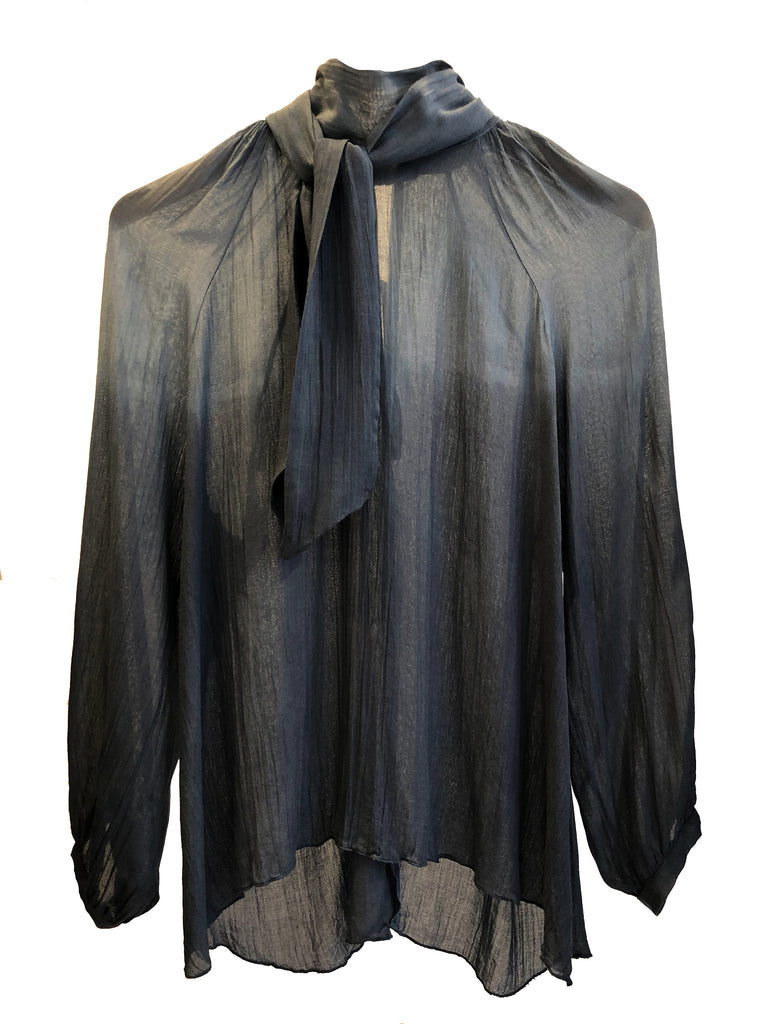 BLOUSE NIGHT GREY