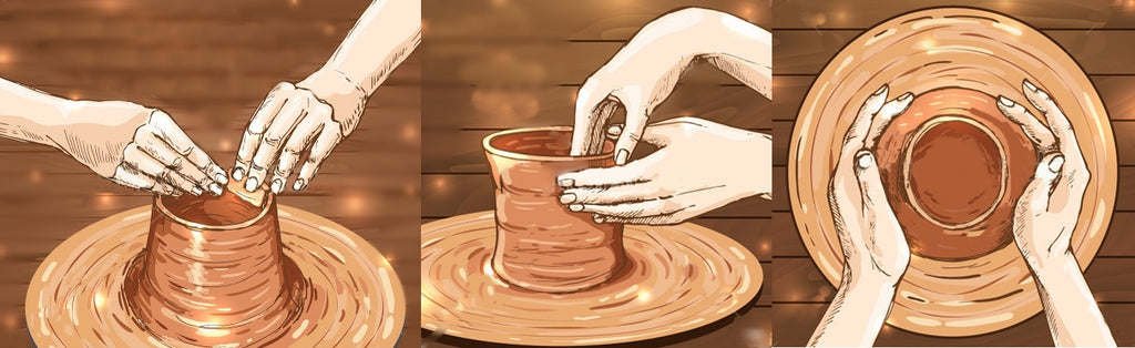 What is Biscuit Pottery?