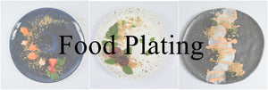 What is food plating?