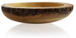 "RoRo Handcarved Wood Fruit and Centerpiece Live Edge Bowl10"" rorodecor.myshopify.com"