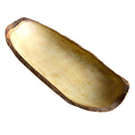 RoRo Handcarved Mango Wood Bread and Fruit Tray, Live Edge Bark 17 Inch rorodecor.myshopify.com