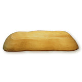 roro Natural Long Tray with Bark Edge Made from Sustainable Wood, 17""
