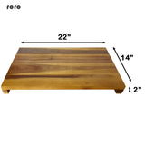 "roro 22"" x 14"" x 2"" Wood Over the Sink Acacia Wood Board rorodecor.myshopify.com"